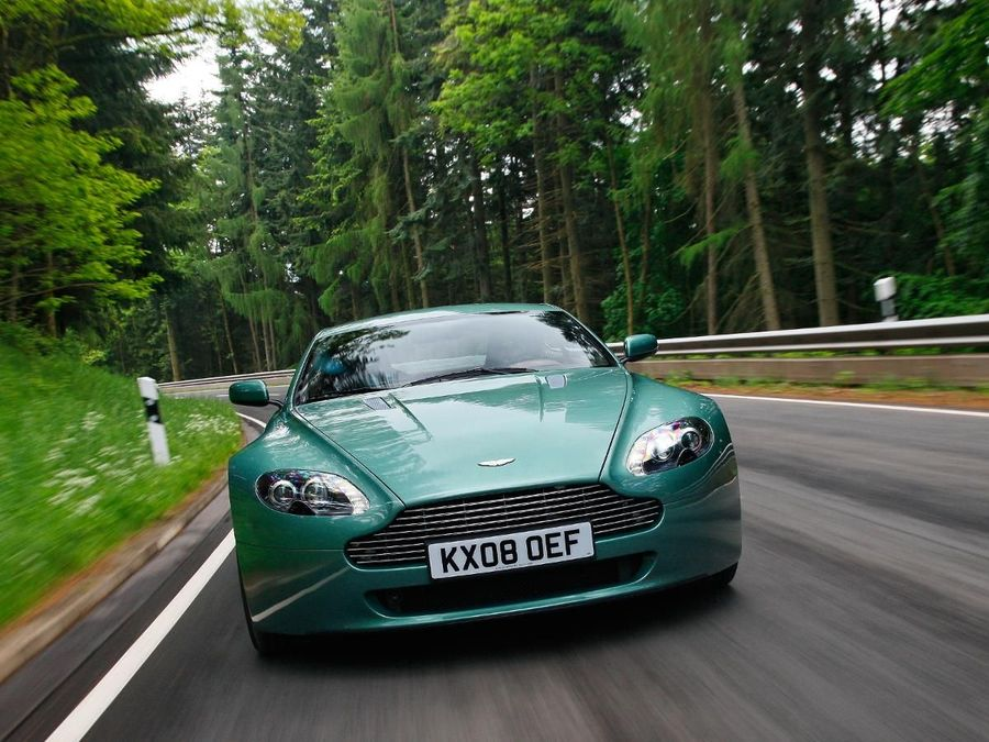 Aston Martin Vantage Coupe View Gallery The Auto Trader Expert
