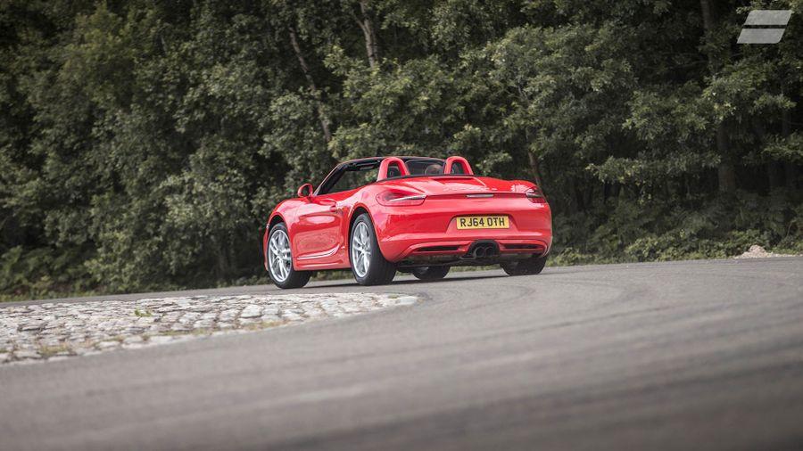 Porsche Boxster handling