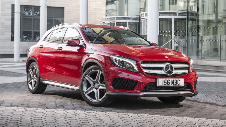 Mercedes GLA styling