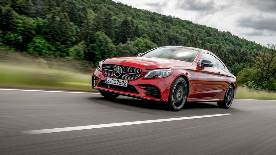 2018 Mercedes-Benz C-Class Coupe