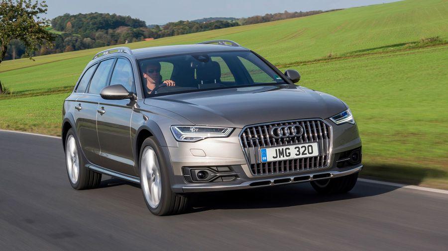 Audi A6 allroad handling
