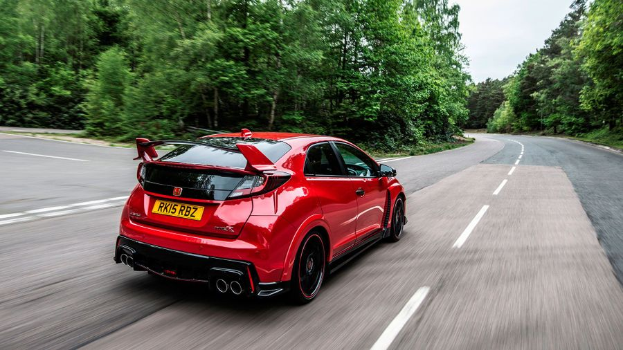 Honda Civic Type R handling