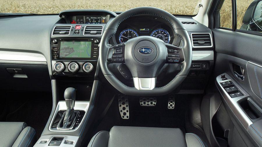 2015 Subaru Levorg interior