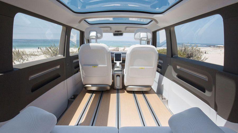 Volkswagen I.D. BUZZ electric campervan preview