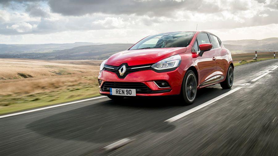 2016 Renault Clio ride