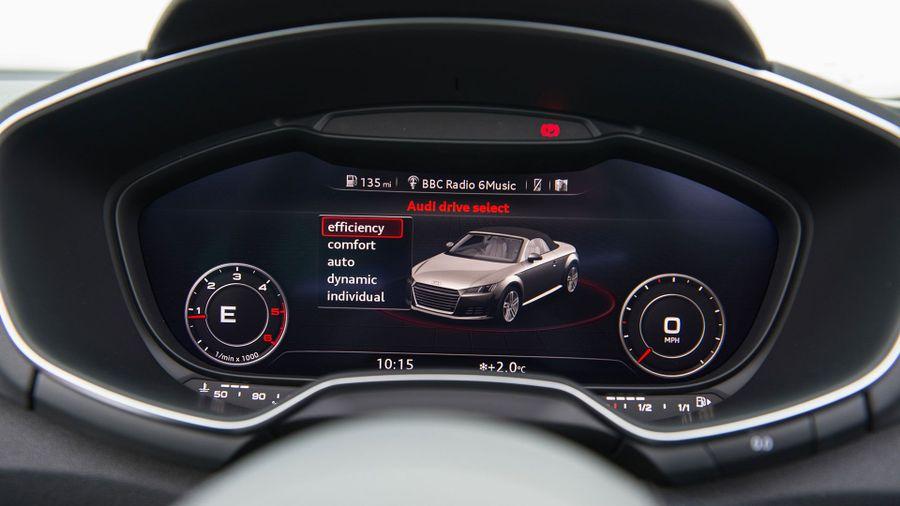 2015 Audi TT Roadster equipment