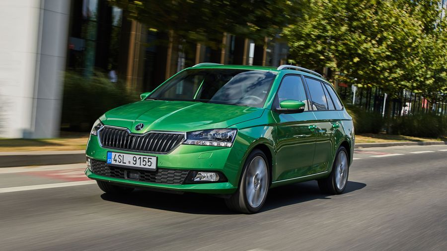 skoda fabia estate 2018 review auto trader uk. Black Bedroom Furniture Sets. Home Design Ideas