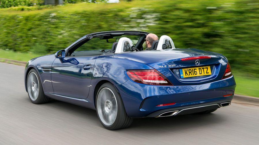 Mercedes Benz Slc Convertible 2016 Review Auto