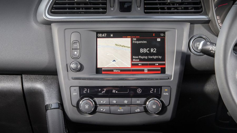 Renault Kadjar equipment
