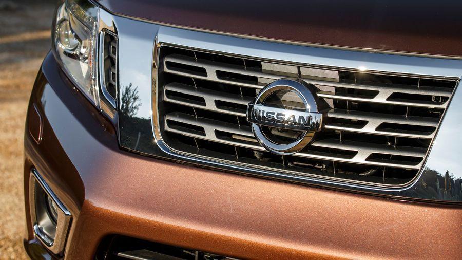 Nissan Navara front grille